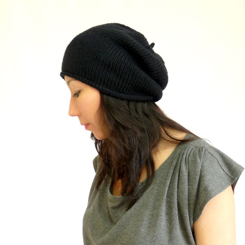 Beret Style Slouch Hat
