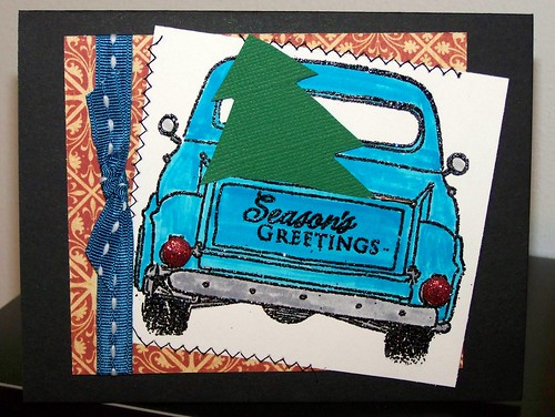 Blue Truck/Season's Greetings