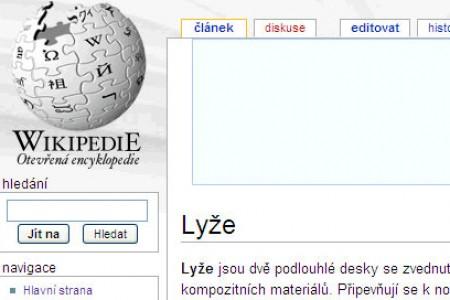 Wikipedia: co jsou lyže