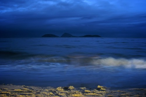 Ipanema Beach at Night