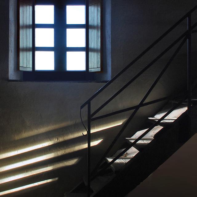 scala di luce...