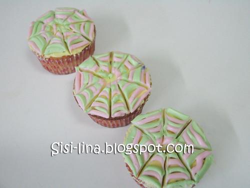 cupcake spider