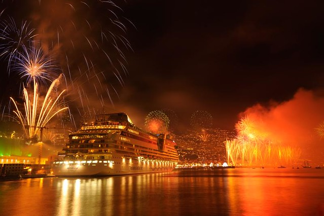 Madeira Funchal New Year's Fireworks 1