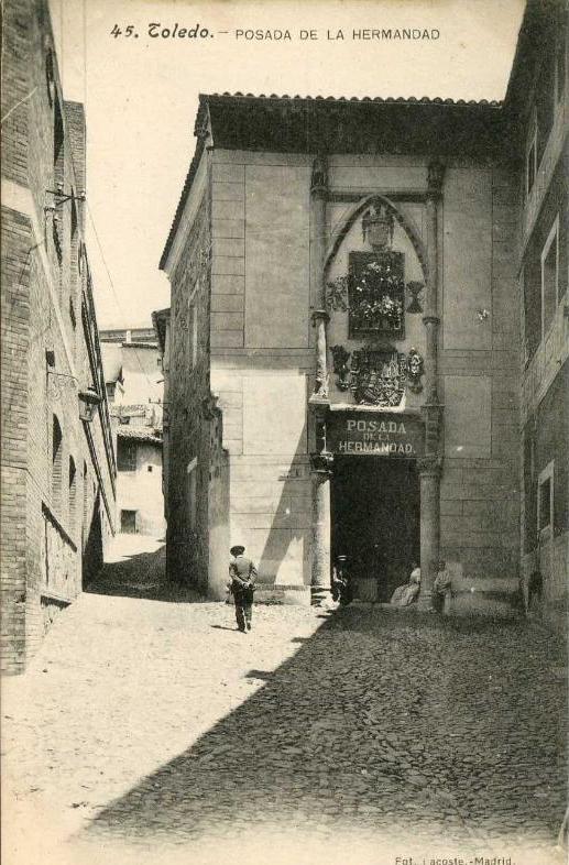 Posada de la Hermandad a inicios del siglo XX. Foto Lacoste