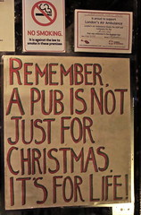 Lamb & Flag - a pub for life (Julia Manzerova) Tags: christmas london pub ale londres forlife lambandflag