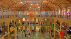 Bologna (Nevica) Tags: italy lights italia library ceiling biblioteca bologna pillars hdr emigliaromagna dynamicphotohdr labibliotecasalaborsa