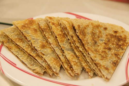淞園飯館 豆沙鍋餅