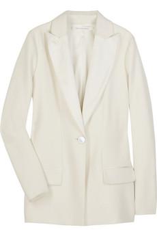 Diane von Furstenberg cream tuxedi