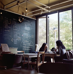 Gooday, Booday ( ken ) Tags: 120 6x6 film shop cafe minolta kodak taiwan taipei  autocord   booday designoffice friendsshop ektacolorpro160 25