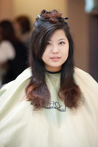 [ 女生髮型 ] 一口氣的把頭髮剪掉吧