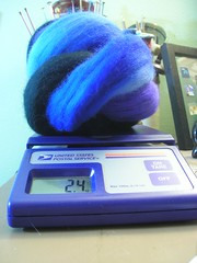 TwitKAL yarn in progress