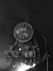 Over the Pit (Gerry Balding) Tags: england night norfolk shed engine pit steam locomotive eastanglia 2100 northnorfolkrailway weybourne wardepartment uksteam 90775 anawesomeshot thepoppyline thatsyerlot mgnr northbritishlococo