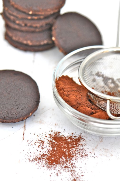 Cocoa Hazelnut Sandwich Cookies | Fresh New England