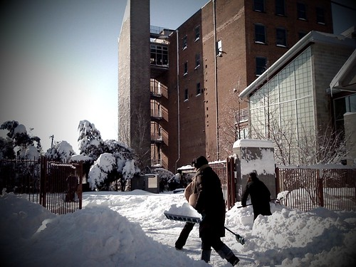 Mattress Factory Staff Digs Out