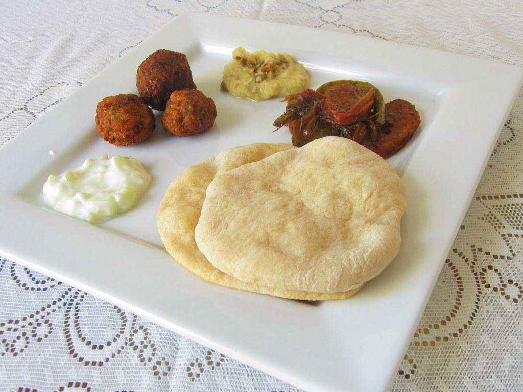 Mezze in plate
