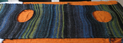 Edie Cardigan soon to be Shawl