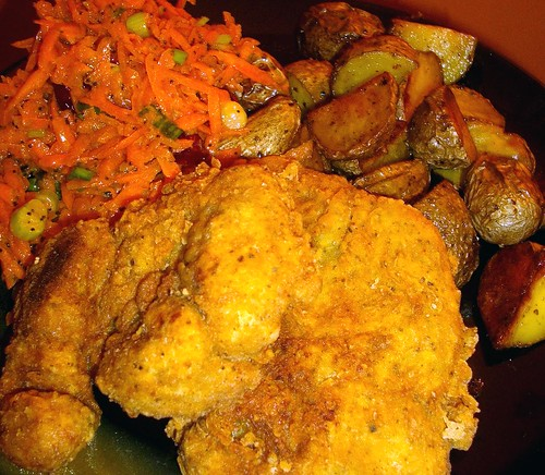 how to make seitan fried chicken