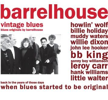 Barrelhouse - Vintage Blues (CD)