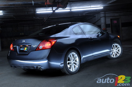 2010 Nissan Altima Coupe Interior. 2010 Nissan Altima Coupe by
