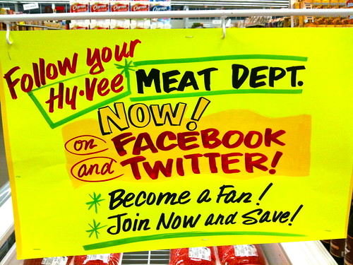 Follow the Meat Dept on Twitter!