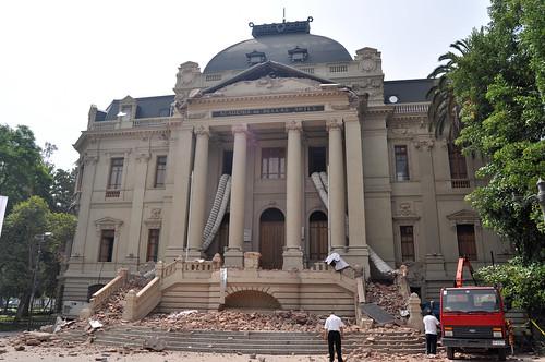 Terremoto @ Santiago Chile
