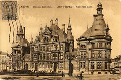 Anvers - Banque Nationale. Antwerpen - Nationale Bank (wwwuppertal) Tags: belgium antwerp 1922 antwerpen anvers belgien belge ansichtskarte banquenationale picturepostcard nationalebank historicview postkartensammlung historischeansicht picturepostcardcollection