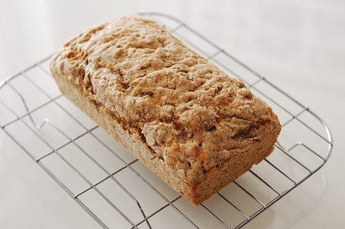 Whole Wheat Dill Beer Bread