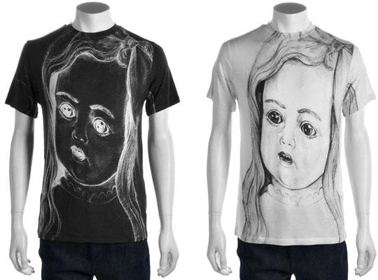 "Christopher Kane ""Doll Face"" t-shirt"