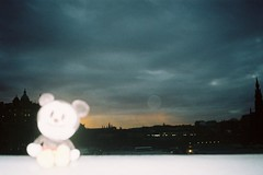 () Tags: uk film analog scotland edinburgh dusk flash pop konica analogue happy100 efj konicapop konicaefj