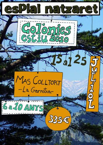 Cartell colònies 2010