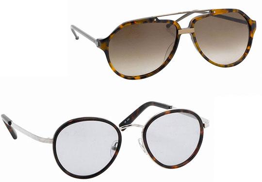 Linda Farrow Fall/10 sunglasses by Raf Simons