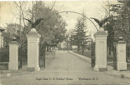 Eagle Gate, Soldiers' Home ca. 1920