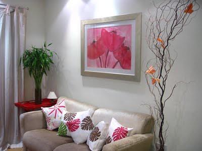 almofadas decoração ambiente