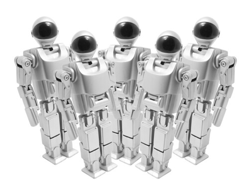 Futuristic Web 3.0 Robot