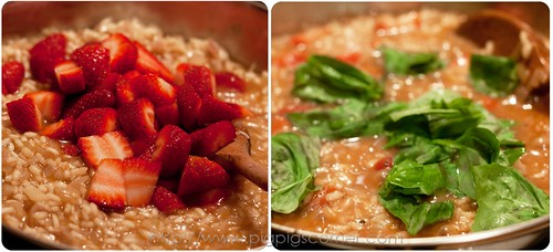 strawberry risotto with balsamic vinegar 5