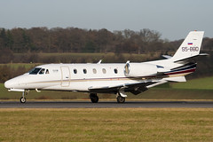 S5-BBD - 560-5058 - GIO Aviation - Cessna 560XL Citation Excel - Luton - 091210 - Steven Gray - IMG_5137
