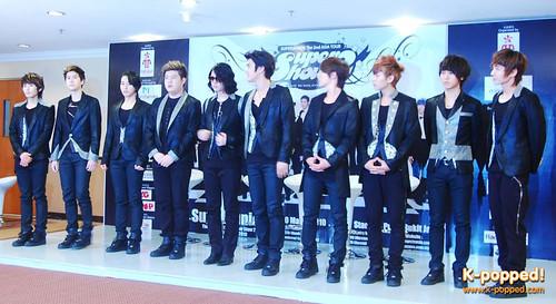 Super Junior's Super Show 2 press conference in Malaysia