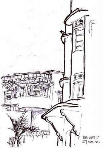 Sketchwalk Tiong Bahru
