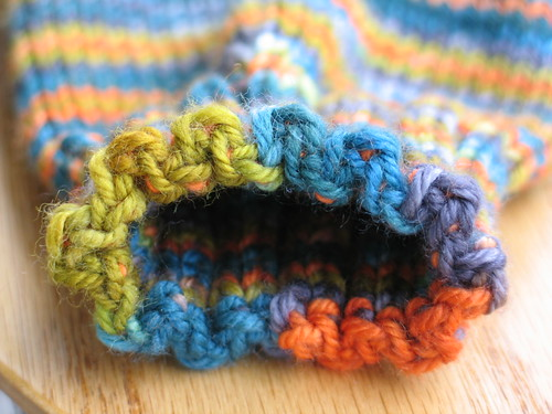 Love this bind off!