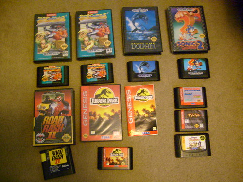 Selling boxed Sega Genesis System and Games 4474073299_2d71042206