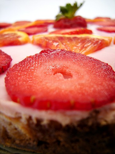 cheesecake fragola arancia