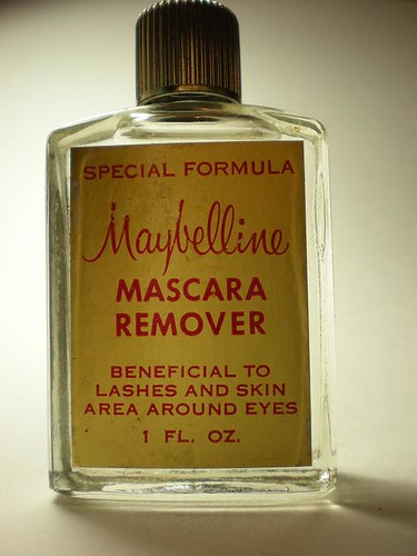 1960s maybelline mascara remover bottle