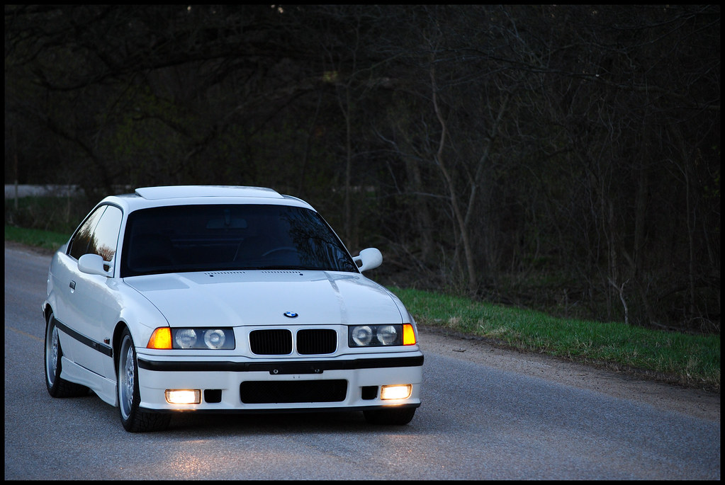 May As Well Put These Up E36 Alpine White M3