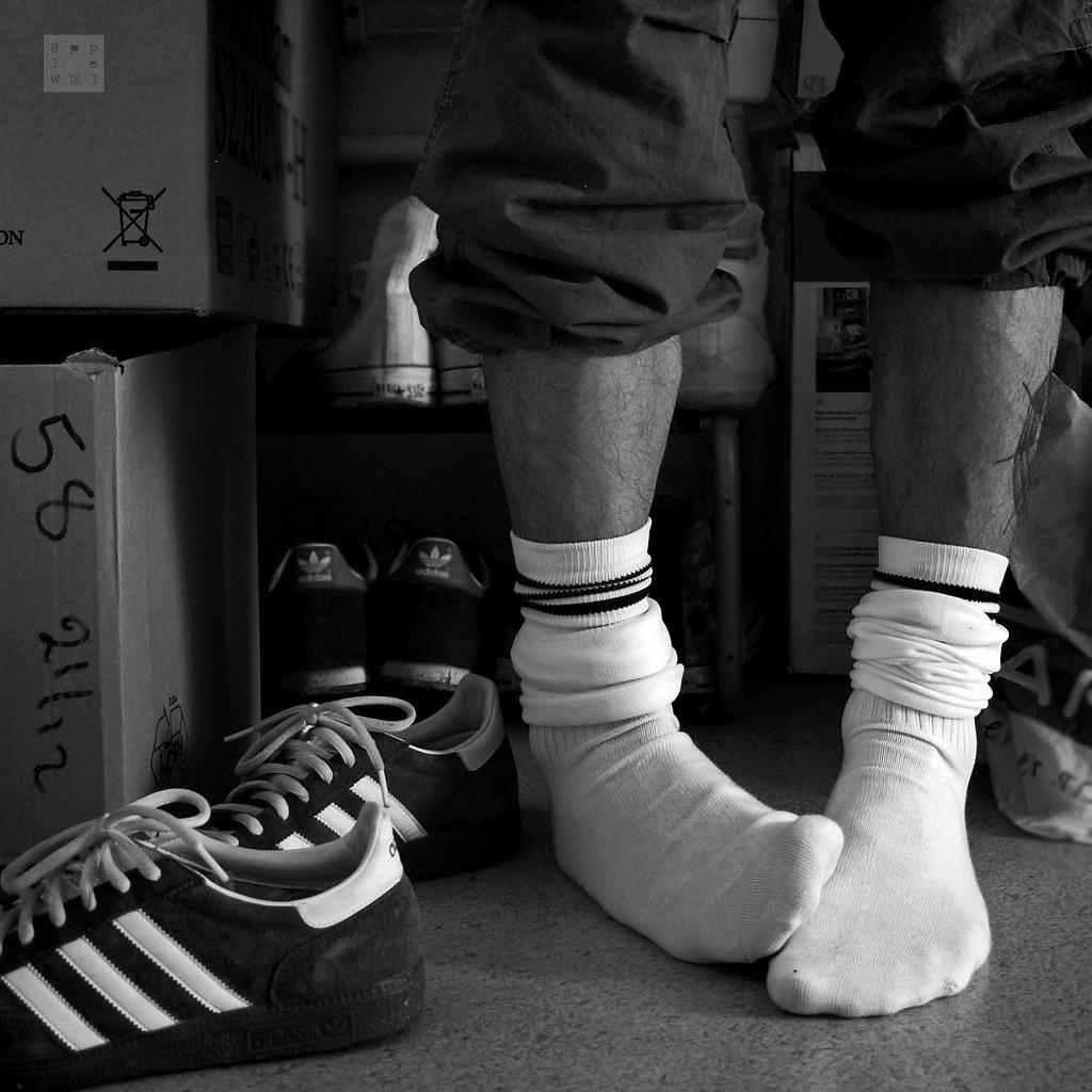 Fetish white socks photos