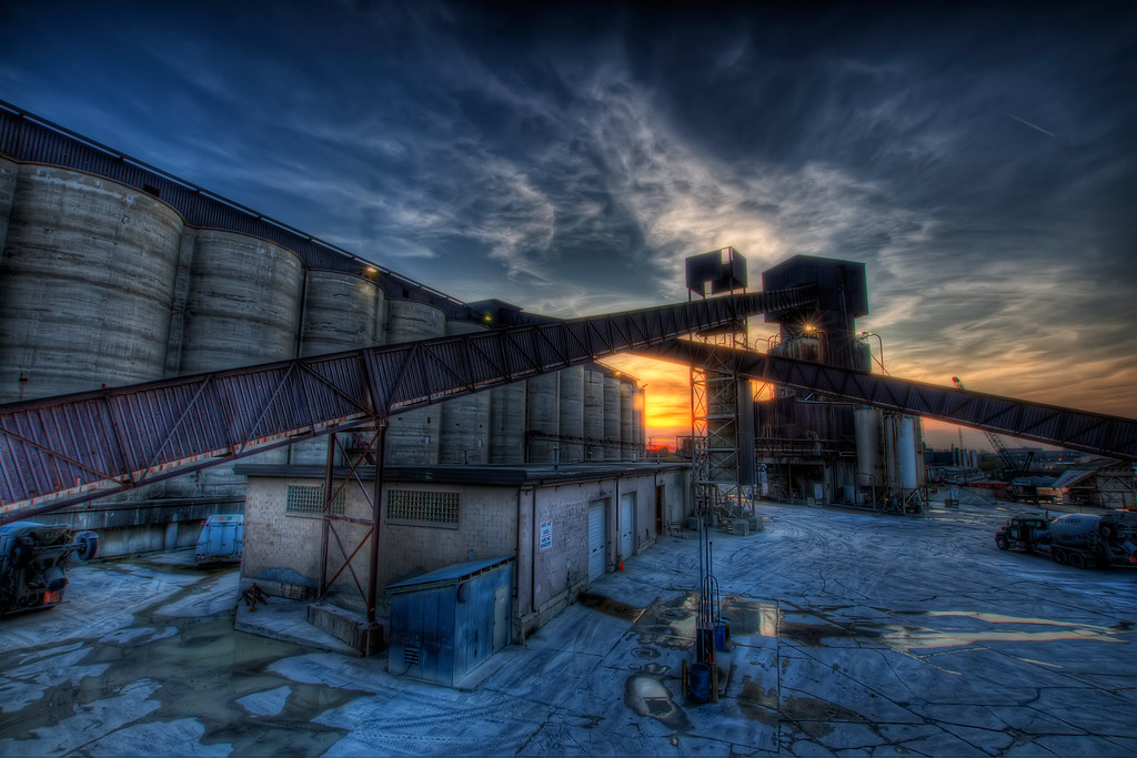 Industrial Sunset.