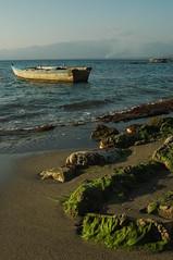 (moisesm) Tags: republica paisajes botes salinas dominicana playas pescar bani atardeser