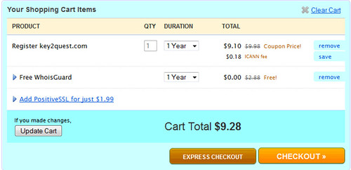 Namecheap.com Coupon - June 2011