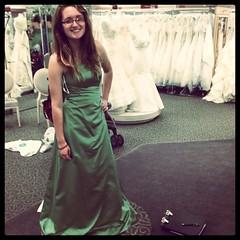 day clxxix- wedding plans (365daysofsarav) Tags: green skinny pretty dress bridesmaid 365 365days instagram