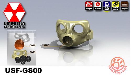 Custom minifig USF-GS00