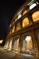 Colloseum (PeterJot) Tags: italy rome night antique colosseum colloseum colosseo flavium amphitheatrum